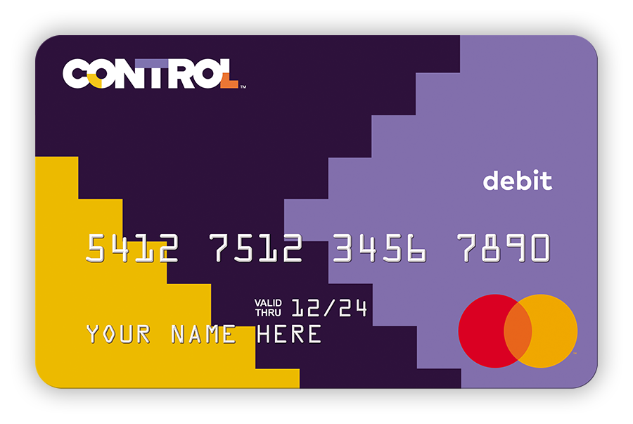 Take Control Of Your Money The Control Prepaid Mastercard